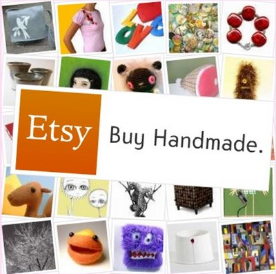 Collage image of handmade items
