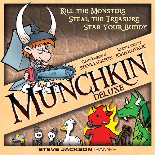 Image - Munchkin Deluxe Game