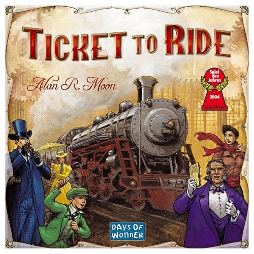 Image - Ticket to Ride Game