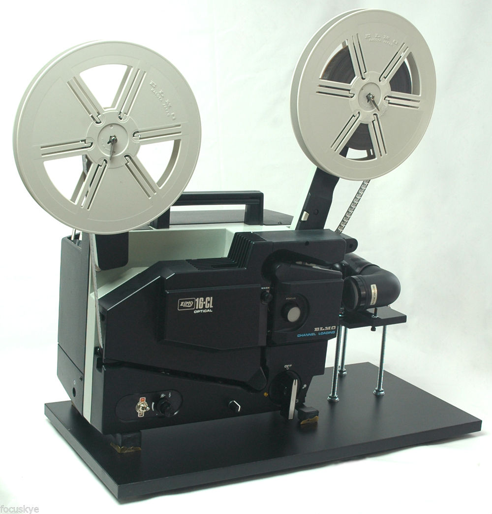 Image of 16mm Film Projector